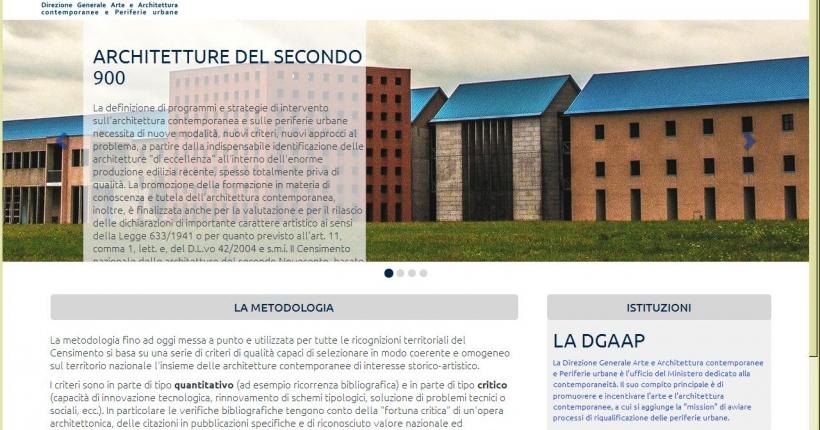 13 Opere dello Studio Carmassi selezionate dal DGAAP come architetture contemporanee di interesse storico artistico